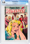 Golden Age (1938-1955):Romance, Teen-Age Romances #13 (St. John, 1950) CGC VG/FN 5.0 Off-whitepages....