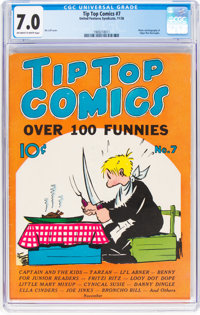 Tip Top Comics #7 (United Feature Syndicate/Standard, 1936) CGC FN/VF 7.0 Off-white to white pages