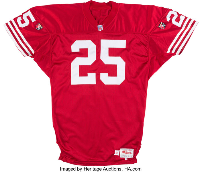 best service 86757 2b422 1995 Eric Davis Game Issued San Francisco 49ers Jersey from ...