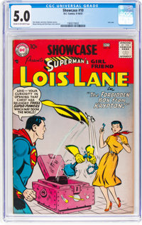 Showcase #10 Superman's Girlfriend Lois Lane (DC, 1957) CGC VG/FN 5.0 Cream to off-white pages