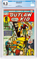 Bronze Age (1970-1979):Western, Outlaw Kid #19 (Marvel, 1973) CGC NM- 9.2 Off-white to white pages....