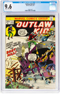 Bronze Age (1970-1979):Western, Outlaw Kid #21 (Marvel, 1974) CGC NM+ 9.6 Off-white to white pages....