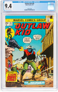 Bronze Age (1970-1979):Western, Outlaw Kid #26 (Marvel, 1975) CGC NM 9.4 Off-white to white pages....
