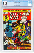 Bronze Age (1970-1979):Western, Outlaw Kid #28 (Marvel, 1975) CGC NM- 9.2 Off-white to white pages....