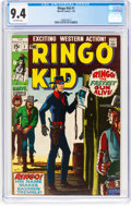 Bronze Age (1970-1979):Western, The Ringo Kid #1 (Marvel, 1970) CGC NM 9.4 Off-white pages....