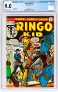 Bronze Age (1970-1979):Western, The Ringo Kid #18 (Marvel, 1973) CGC VF/NM 9.0 Cream to off-white pages....