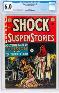 Golden Age (1938-1955):Horror, Shock SuspenStories #6 (EC, 1952) CGC FN 6.0 Cream to off-white pages....