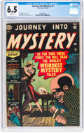 Golden Age (1938-1955):Horror, Journey Into Mystery #4 (Marvel, 1952) CGC FN+ 6.5 White pages....