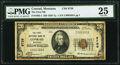 National Bank Notes:Montana, Conrad, MT - $20 1929 Ty. 1 The First NB Ch. # 9759 PMG Very Fine 25.. ...