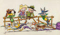 """Animation Art:Poster, """"The Good, the Bad, and the Hungry"""" Bugs Bunny and Friends LimitedEdition Fine Art Giclee Print #101/350 (Warner Brothers, 19...(Total: 2 Items)"""