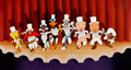 """Animation Art:Limited Edition Cel, """"Chorus Line"""" Bugs Bunny and Friends Limited Edition Cel #982/1200 (Warner Brothers, 1990)...."""