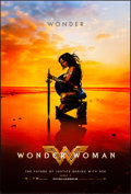 """Movie Posters:Action, Wonder Woman (Warner Brothers, 2017). Rolled, Very Fine+. One Sheet (27"""" X 40"""") DS Teaser, Kneeling Style. Action.. ..."""