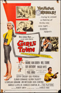 """Movie Posters:Bad Girl, Girls Town (MGM, 1959). Folded, Fine/Very Fine. One Sheet (27"""" X 41""""). Bad Girl.. ..."""