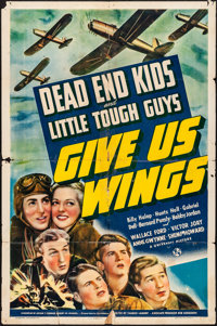 "Give Us Wings (Universal, 1940). Folded, Fine+. One Sheet (27"" X 41""). Adventure"