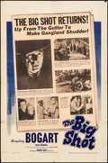 "Movie Posters:Crime, The Big Shot (Warner Bros., 1942). Folded, Fine+. One Sheet (27"" X 41""). Crime.. ..."