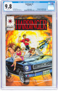Modern Age (1980-Present):Superhero, Harbinger #1 (Valiant, 1992) CGC NM/MT 9.8 White pages....
