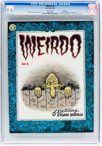 Weirdo #1 File Copy (Last Gasp, 1981) CGC NM+ 9.6 White pages