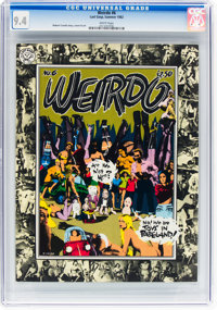 Weirdo #6 (Last Gasp, 1982) CGC NM 9.4 White pages