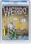 Modern Age (1980-Present):Alternative/Underground, Weirdo #16 (Last Gasp, 1986) CGC VF- 7.5 White pages....