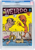 Modern Age (1980-Present):Alternative/Underground, Weirdo #27 (Last Gasp, 1990) CGC VF- 7.5 White pages....