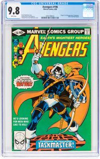 The Avengers #196 (Marvel, 1980) CGC NM/MT 9.8 White pages