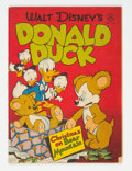 Golden Age (1938-1955):Cartoon Character, Four Color #178 Donald Duck (Dell, 1947) Condition: VG....