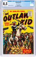 Silver Age (1956-1969):Western, Outlaw Kid #12 Mile High Pedigree (Atlas, 1956) CGC VF+ 8.5 White pages....
