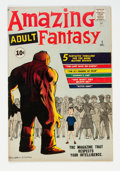 Silver Age (1956-1969):Science Fiction, Amazing Adult Fantasy #7 (Marvel, 1961) Condition: FN-....