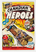 Golden Age (1938-1955):Miscellaneous, Canadian Heroes V2#5 (Educational Projects Inc., 1943) Condition: VG/FN....