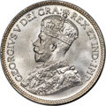 Canada, George V 25 Cents 1933 MS66+ PCGS,...
