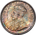 Canada, George V 25 Cents 1936 MS65+ PCGS,...