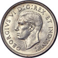 Canada, George VI 25 Cents 1939 MS63 PCGS, Royal Canadian ...