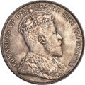 """Canada, Canada: Edward VII """"Victorian Leaves"""" 50 Cents 1910 MS65 PCGS,..."""