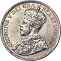 Canada, George V 50 Cents 1916 UNC Detail (Cleaned), Ottaw...