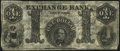 Obsoletes By State:Indiana, Greencastle, IN- Exchange Bank $1 May 10, 1854 Remainder Fine-Very Fine.. ...
