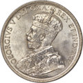 Canada, George V 50 Cents 1932 MS65 PCGS, Royal Canadian M...