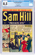 Golden Age (1938-1955):Crime, Sam Hill Private Eye #2 Mile High Pedigree (Archie, 1951) CGC VF+ 8.5 White pages....