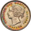 Canada, Victoria 5 Cents 1875-H UNC Detail (Cleaned) PCGS,...