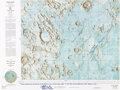 Explorers:Space Exploration, Apollo 11: NASA LAC 60 Color Moon Map Signed by Lunar Module Pilot Buzz Aldrin and Capcom Charlie Duke Who Has Added a Long Qu...