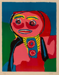 Prints & Multiples:Print, Karel Appel (1921-2006). Figure, 1969. Lithograph in colors on wove paper. 27-5/8 x 21-1/4 inches (70.2 x 54 cm) (sight)...