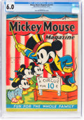 Platinum Age (1897-1937):Miscellaneous, Mickey Mouse Magazine V2#13 (Walt Disney Productions, 1937) CGC FN6.0 Cream to off-white pages....