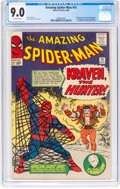 Silver Age (1956-1969):Superhero, The Amazing Spider-Man #15 (Marvel, 1964) CGC VF/NM 9.0 Off-whitepages....