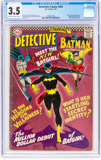 Detective Comics #359 (DC, 1967) CGC VG- 3.5 Off-white to white pages