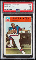 Football Cards:Singles (1960-1969), 1966 Philadelphia Gale Sayers #38 PSA EX 5....