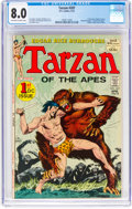 Bronze Age (1970-1979):Adventure, Tarzan #207 (DC, 1972) CGC VF 8.0 Off-white to white pages....