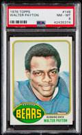 Football Cards:Singles (1970-Now), 1976 Topps Walter Payton #148 PSA NM-MT 8....