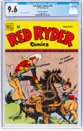 Golden Age (1938-1955):Western, Red Ryder Comics #78 Mile High Pedigree (Dell, 1950) CGC NM+ 9.6 Off-white to white pages....
