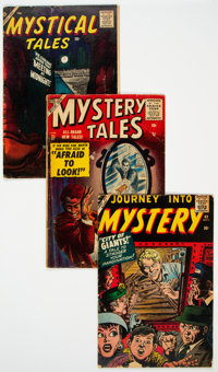 Atlas Comics Golden to Silver Age Horror Comics Group of 29 (Atlas, 1951-59) Condition: Average GD/VG.... (Total: 29 )