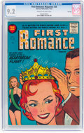 Golden Age (1938-1955):Romance, First Romance Magazine #36 File Copy (Harvey, 1955) CGC NM- 9.2Cream to off-white pages....