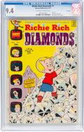 Bronze Age (1970-1979):Humor, Richie Rich Diamonds #1 File Copy (Harvey, 1972) CGC NM 9.4Off-white to white pages....
